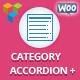 WooCommerce Category Accordion Plus